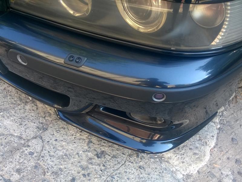 Клыки на М-бампер для E39